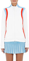 Tory Sport Women's Colorblocked Track Jacket-WHITE