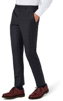 Topman Men's Charlie Casely-Hayford X Skinny Fit Check Suit Trousers