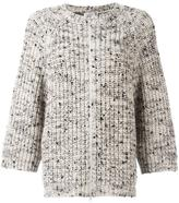 Brunello Cucinelli zip up cardigan - women - Silk/Polyamide/Cashmere - M