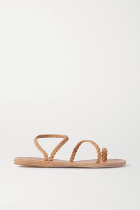 Ancient Greek Sandals Eleftheria Braided Leather Sandals - Neutral