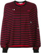 McQ Swallow striped T-shirt