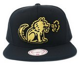 Mitchell & Ness Men's Toronto Huskies Gold Partial Logo Snapback Cap O/S /Gold