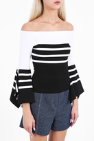 Rosetta Getty Off The Shoulder Top
