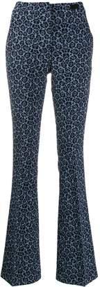 Blumarine Be Flared Trousers