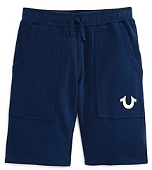 True Religion Boys' Core Cotton Shorts - Little Kid, Big Kid