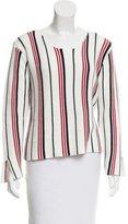 Frame Striped Knit Sweater