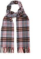 Burberry Castleford checked cashmere scarf