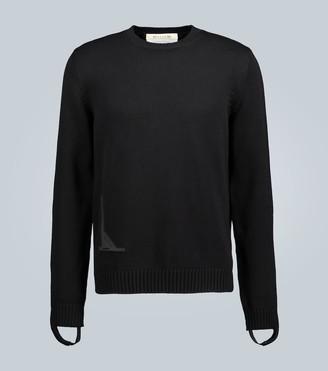 Alyx Cuffed-wrist knitted cotton sweater