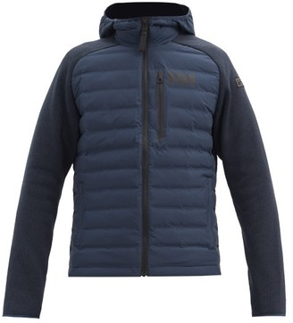 Helly Hansen Arctic Ocean Knitted-sleeve Padded Jacket - Navy