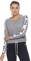 FILA SPORT Women's FILA Sport® Side Tape Long Sleeve Tee