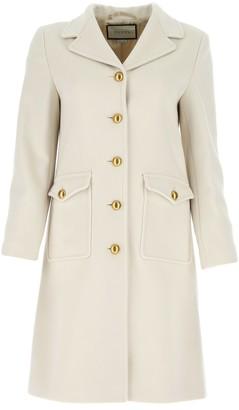 Gucci GG Single Breasted Coat