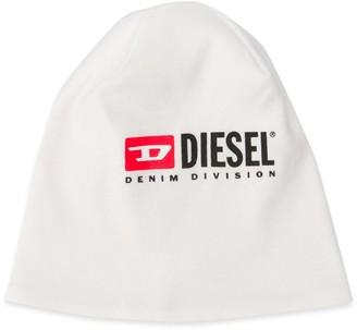 Diesel Logo Printed Beanie