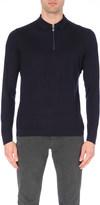 Brunello Cucinelli Zip-detail cashmere-blend jumper