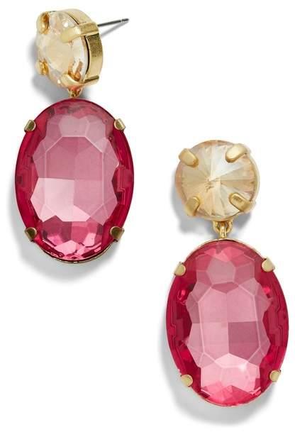 BaubleBar Crystal Drop Earrings