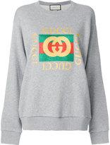 Gucci classic logo sweatshirt