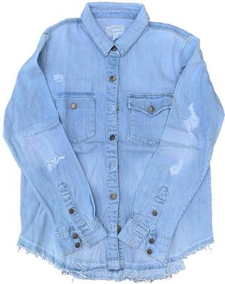 Current/Elliott Current Elliott Blue Denim - Jeans Tops
