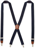 Dockers 1.25 Inch Dobby X-Back Poly Stretch Suspender