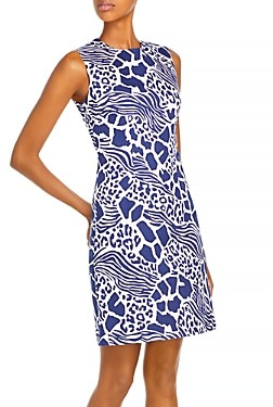 Adam Lippes Printed Sheath Dress