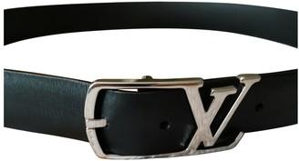 Louis Vuitton Black Leather Belts