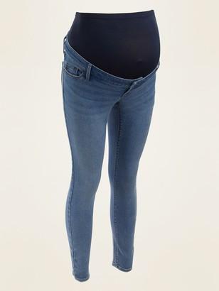 Old Navy Maternity Premium Full-Panel Rockstar Super Skinny Jeans