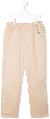 Familiar classic slim-fit chinos