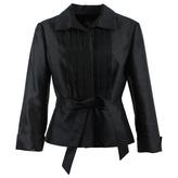 BCBGMAXAZRIA Silk short vest