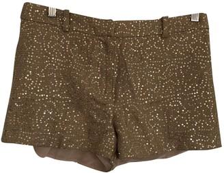 Rachel Roy Beige Cloth Shorts for Women
