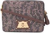 Juicy Couture snake print Grace satchel