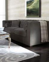 Horchow Dusk Tufted Sofa