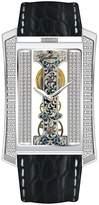 Gallucci Women's WT23401SK/SSL-K Elegant Gemini-Deluxe Watch with Black Band