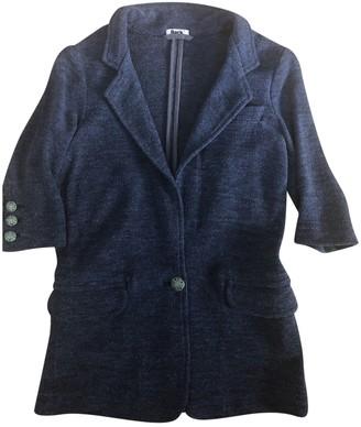 Bark Blue Linen Jacket for Women