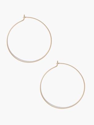 ABLE Thin Hoop Earring