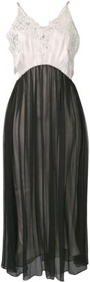 Prada Lace-Embellished Slip Dress