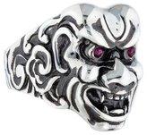 Stephen Webster Ruby Japanese Warrior Mask Ring
