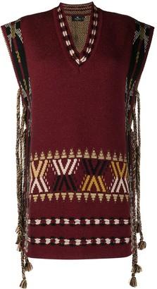 Etro Geometric-Jacquard Sweater Vest
