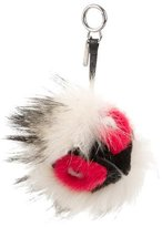 Fendi 2015 Fur Kurioso Bag Bug Charm