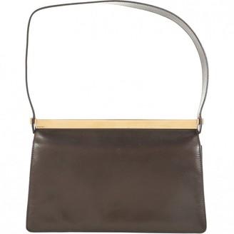 Gucci \N Brown Leather Handbags