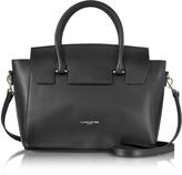 Lancaster Paris Camelia Leather Tote Bag w/Detachable Shoulder Strap