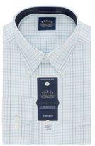 Eagle Grid Printed Cotton Dress Shirt