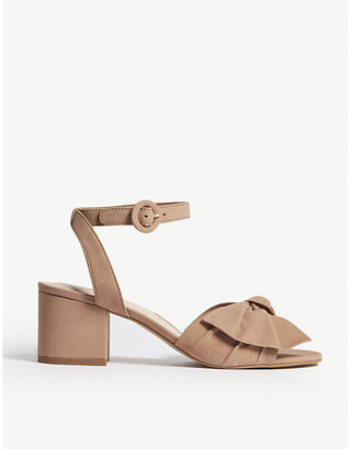 Aldo Sicinski suede heeled sandals