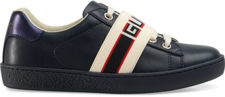 Gucci Children's Ace sneaker with stripe