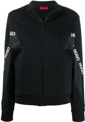 HUGO BOSS Logo-Tape Track Jacket