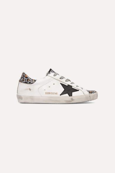 91fa0466928c Golden Goose Leopard Print Sneakers - ShopStyle