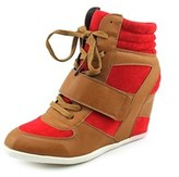 Diba Aero Space Women Open Toe Synthetic Wedge Heel.