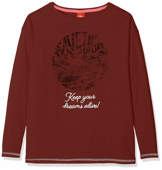 S'Oliver Girls' 66.909.31.8960 T-Shirt