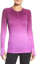 Women's Climawear Dip Dye Long Sleeve Top