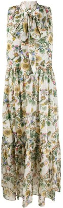 La DoubleJ Lou Lou thistle print dress