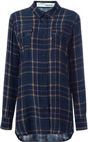 Off-White plaid shirt - women - Silk - XXS