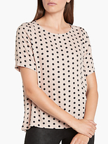Minimum Janika Printed Top, Mushroom