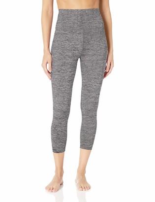 "Core 10 Amazon Brand Women's All Day Comfort High Waist 7/8 Crop Yoga Legging - 24"""
